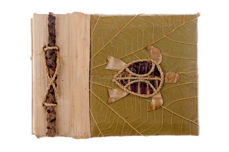 Álbum Handcrafted del cuadro foto de archivo