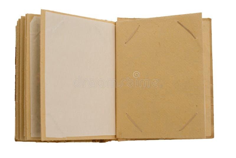 Álbum Handcrafted do retrato fotos de stock