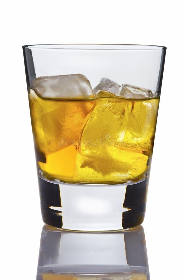 Álcool no vidro imagens de stock