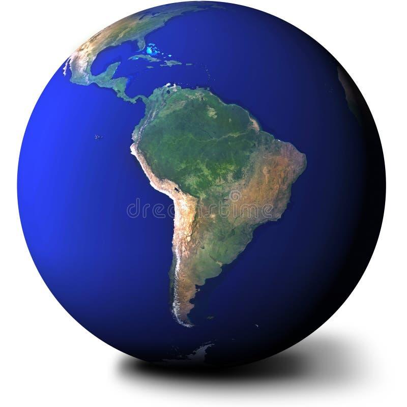 Ámérica do Sul ilustração royalty free