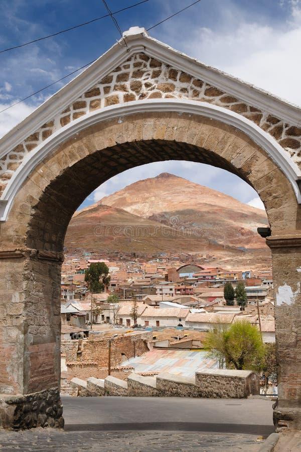 Ámérica do Sul - Bolívia, Potosi imagens de stock royalty free