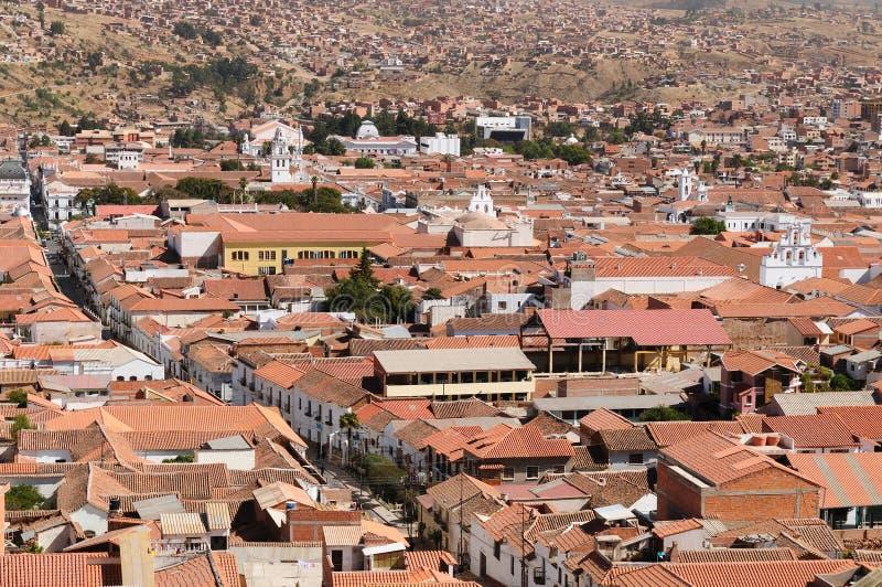 Ámérica do Sul - Bolívia, sucre imagens de stock