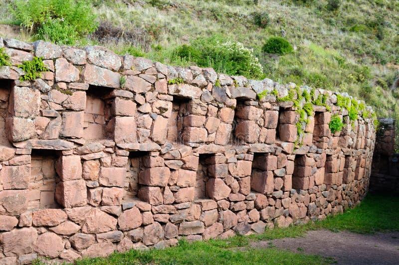 Ámérica do Sul, ruínas do Inca de Pisaq, Peru, vale sagrado, fotos de stock
