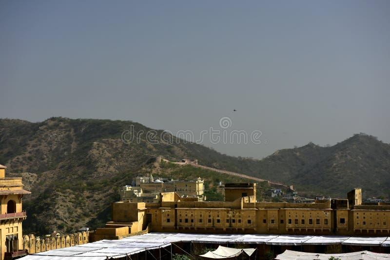 Ámbar del fuerte, la India imagen de archivo