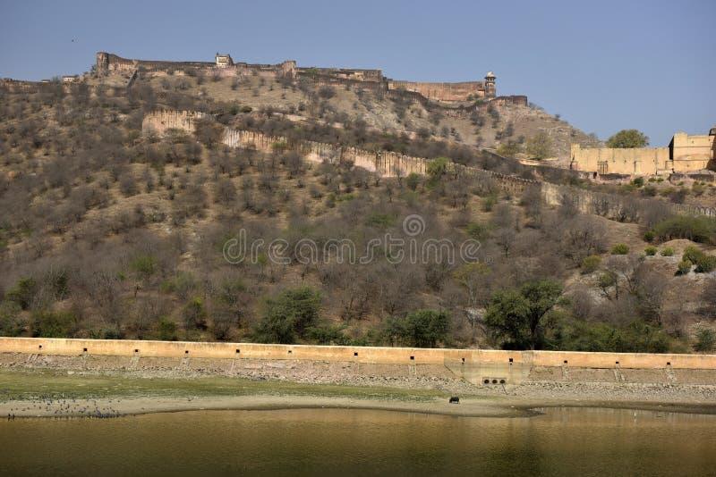 Ámbar del fuerte, la India imágenes de archivo libres de regalías