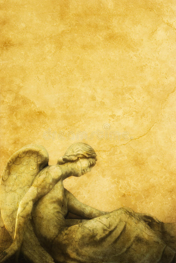 Ángel caido libre illustration
