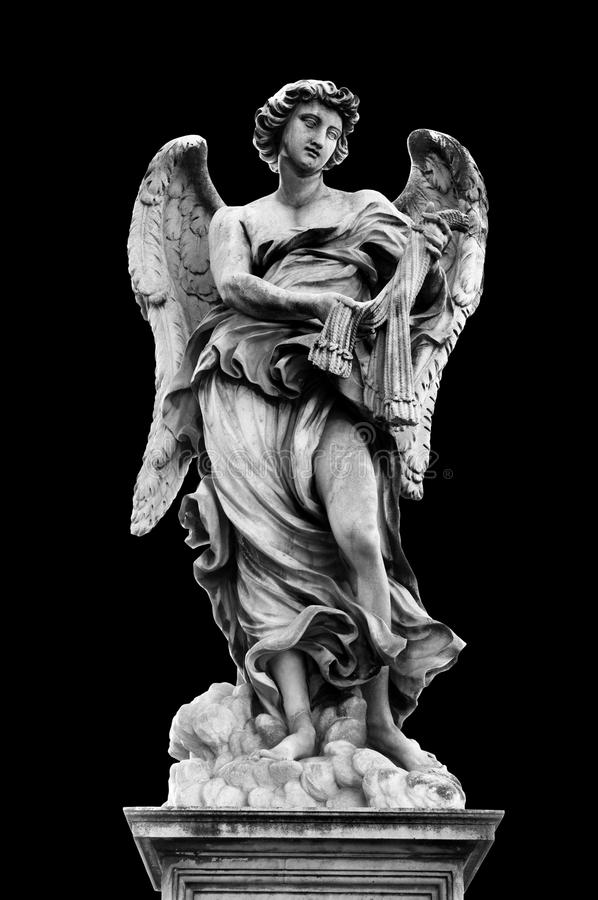 Ángel con los azotes fotografía de archivo