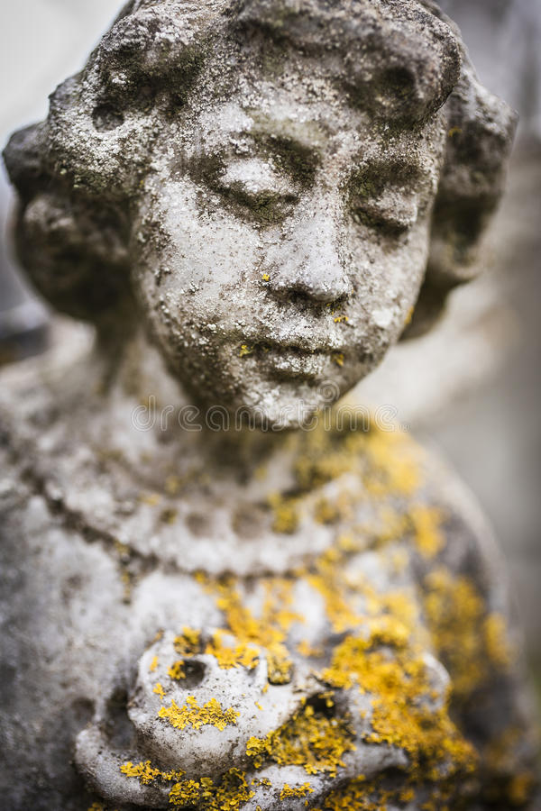 Ángel de Auchindour imagen de archivo