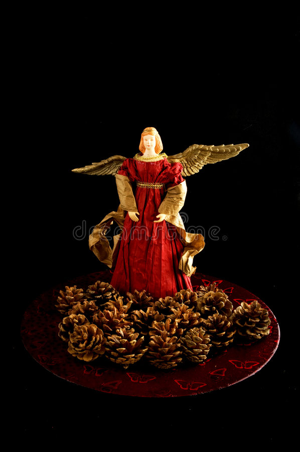 Ángel de la Navidad fotos de archivo