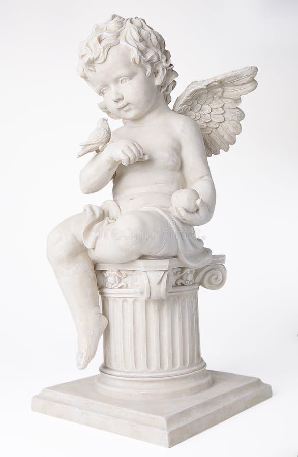 Ángel de la querube foto de archivo