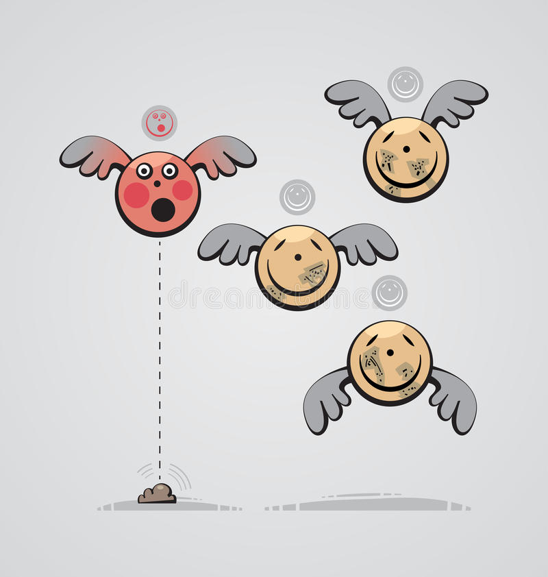 Ángel de Pooping libre illustration