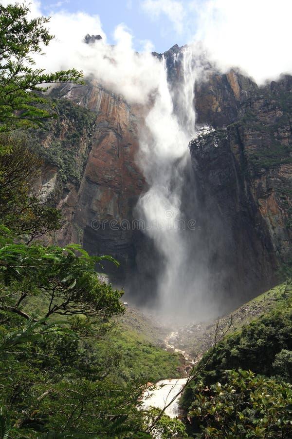 Ángel de Salto, Venezuela imagenes de archivo