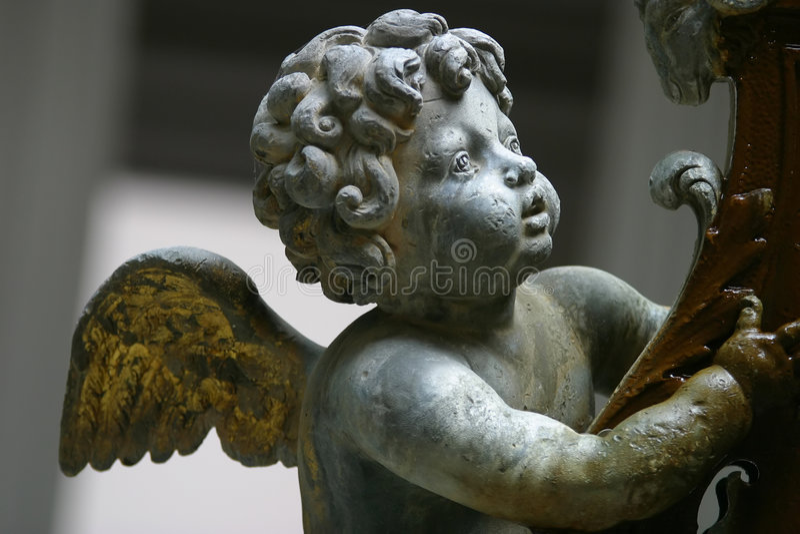 Ángel del bebé foto de archivo libre de regalías