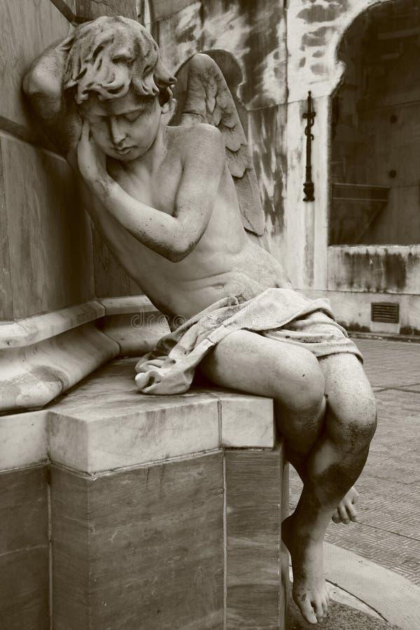 Ángel el dormir fotografía de archivo libre de regalías