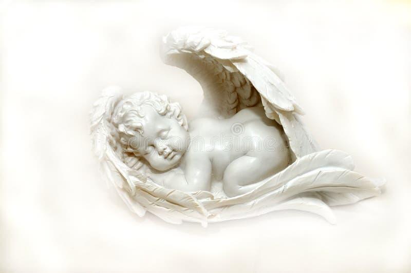 Ángel el dormir imagen de archivo libre de regalías