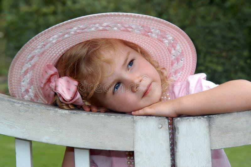 Ángel en color de rosa imágenes de archivo libres de regalías