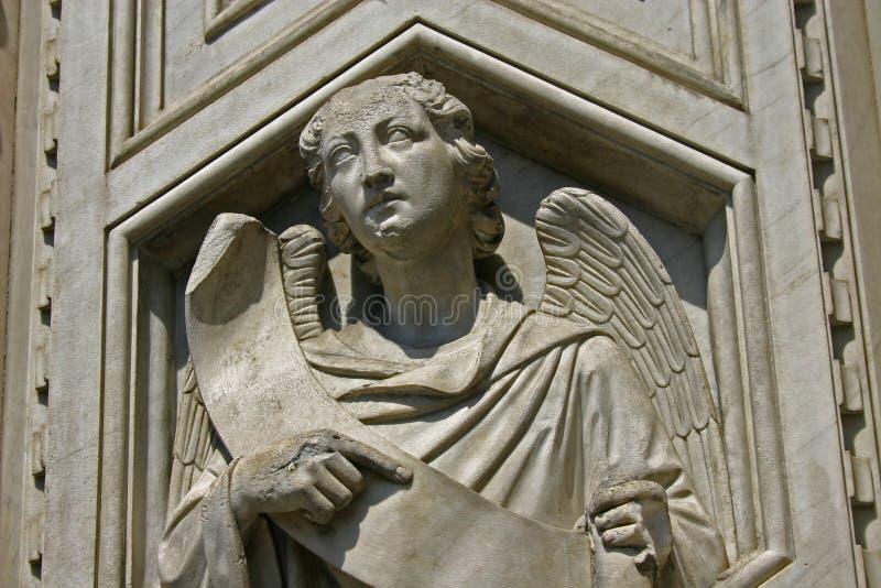 Ángel en Florencia fotos de archivo libres de regalías