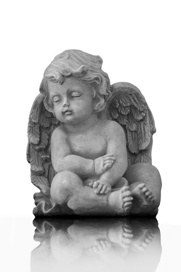 Ángel y sombras fotografía de archivo libre de regalías
