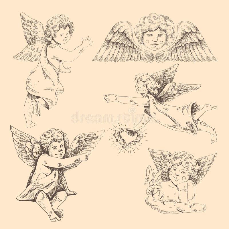 Ángeles. Cupids libre illustration