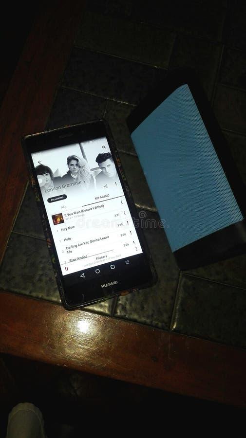 Ángulo 3 de Huawei y del oontz imagen de archivo