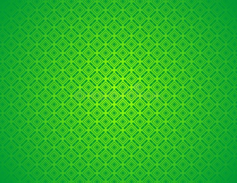 Árabe chinês decorativo oriental abstrato verde floral, islâmico, fundo da textura do teste padrão Imlek, ramadã, papel de parede ilustração royalty free