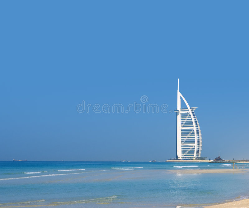 Árabe del al de Burj en Dubai