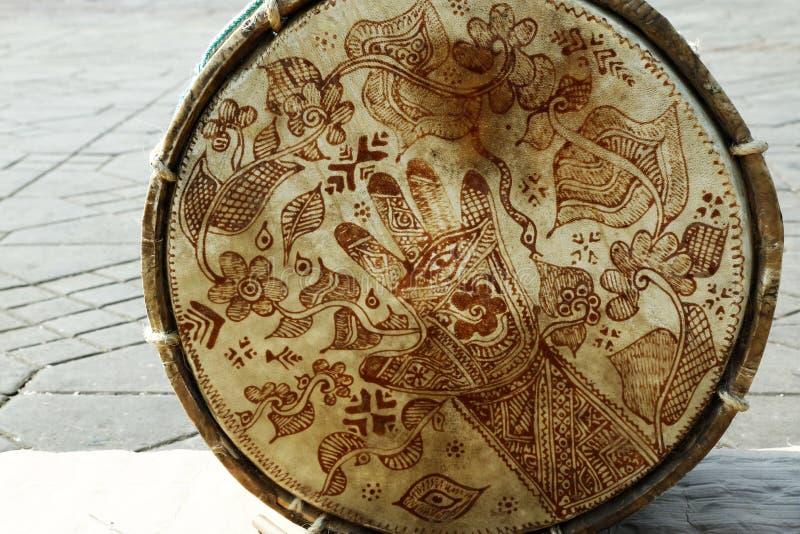 Árabe del tambor fotografía de archivo