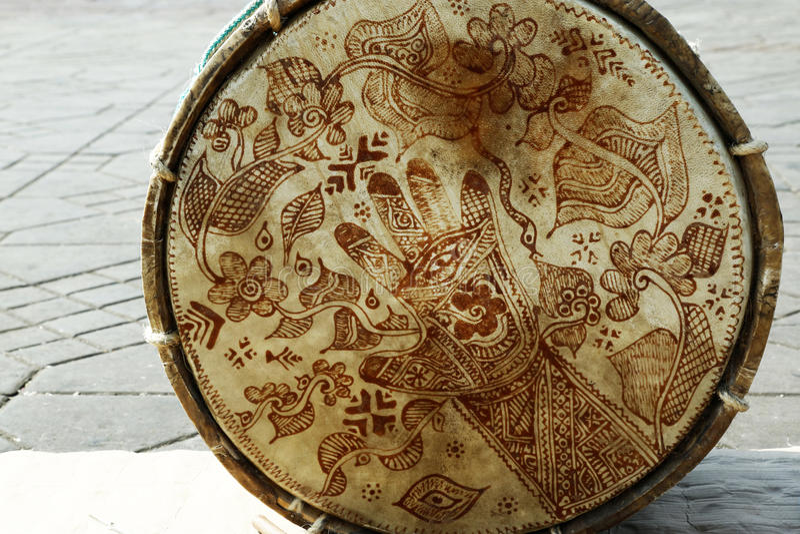 Árabe do cilindro fotografia de stock