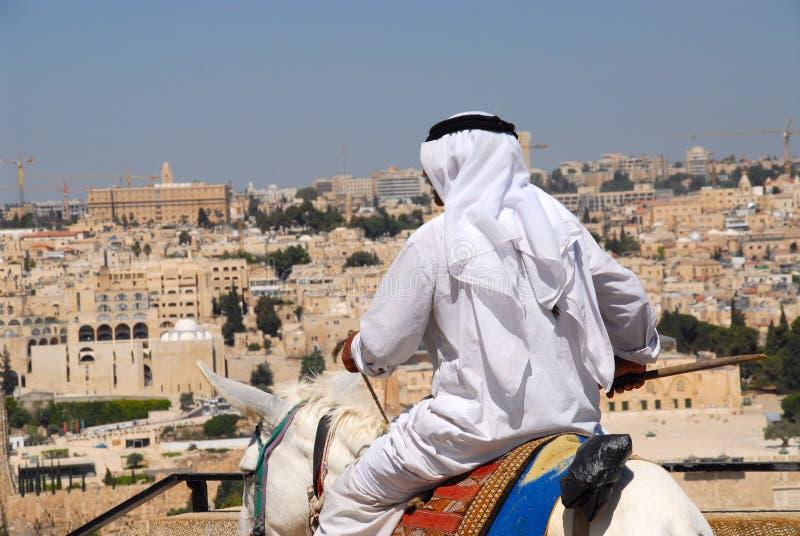 Árabe en Jerusalén foto de archivo libre de regalías