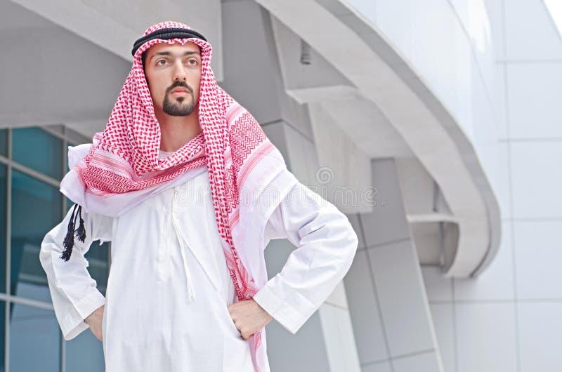 Árabe en la calle fotos de archivo libres de regalías