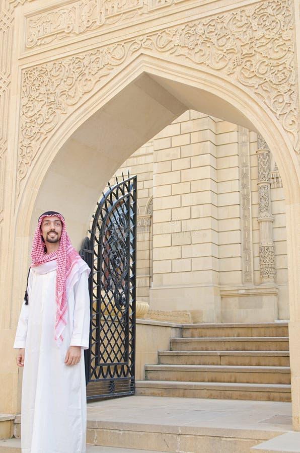 Árabe na rua fotos de stock