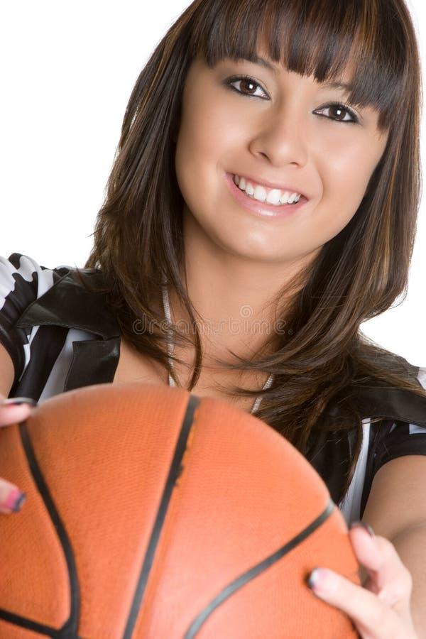 Árbitro del baloncesto fotografía de archivo