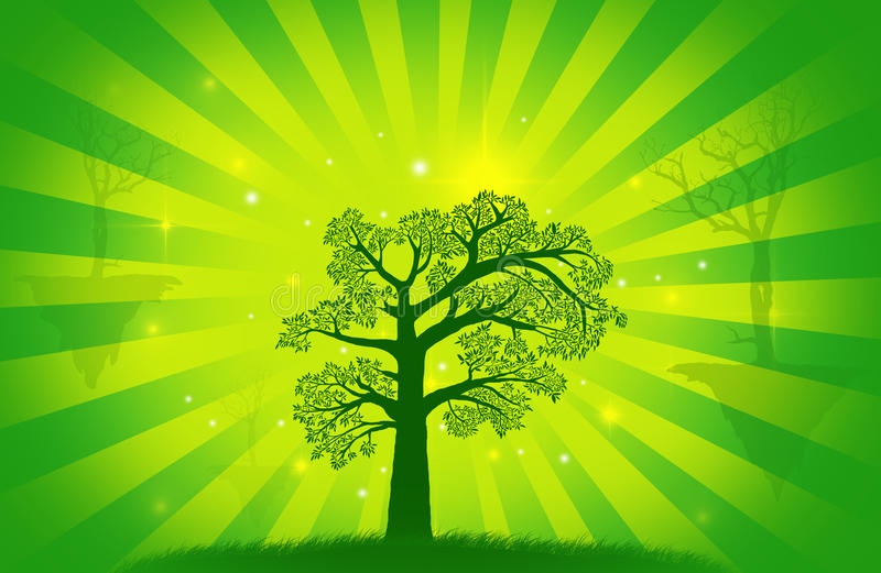 Árbol abstracto libre illustration