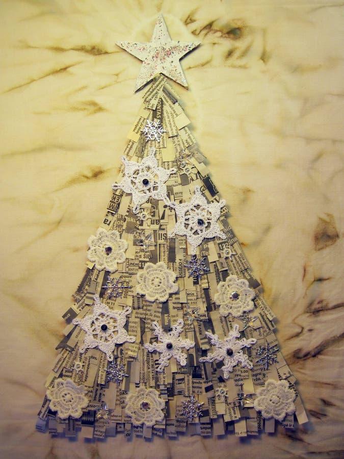 Árbol de abeto de la Navidad fotografía de archivo libre de regalías