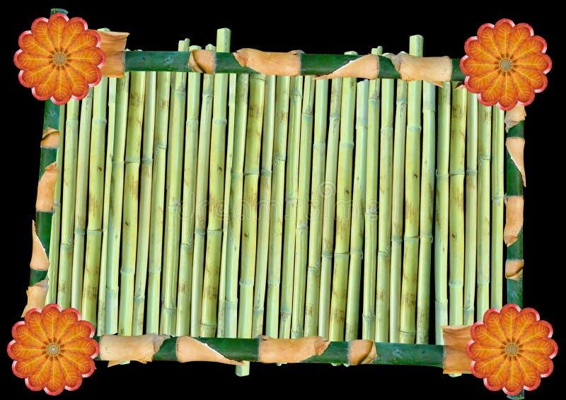 Árbol de bambú stock de ilustración