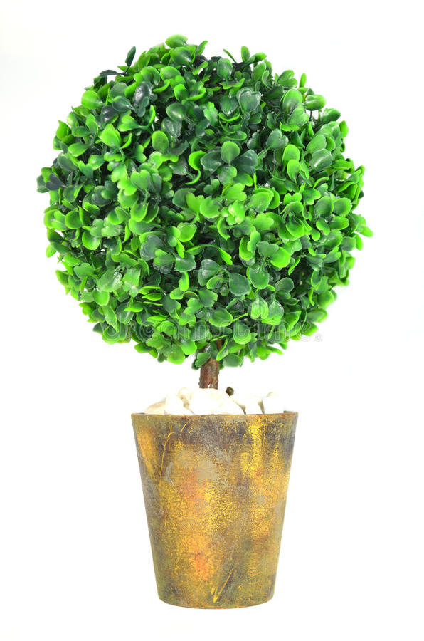 Árbol de la decoración para la decoración casera imagen de archivo libre de regalías