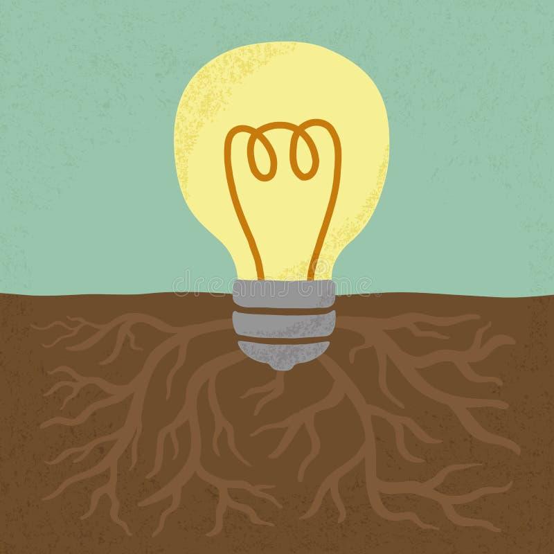 Árbol de la idea libre illustration