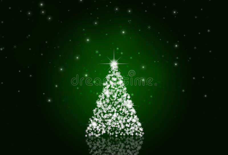 Árbol de la nieve de Navidad libre illustration