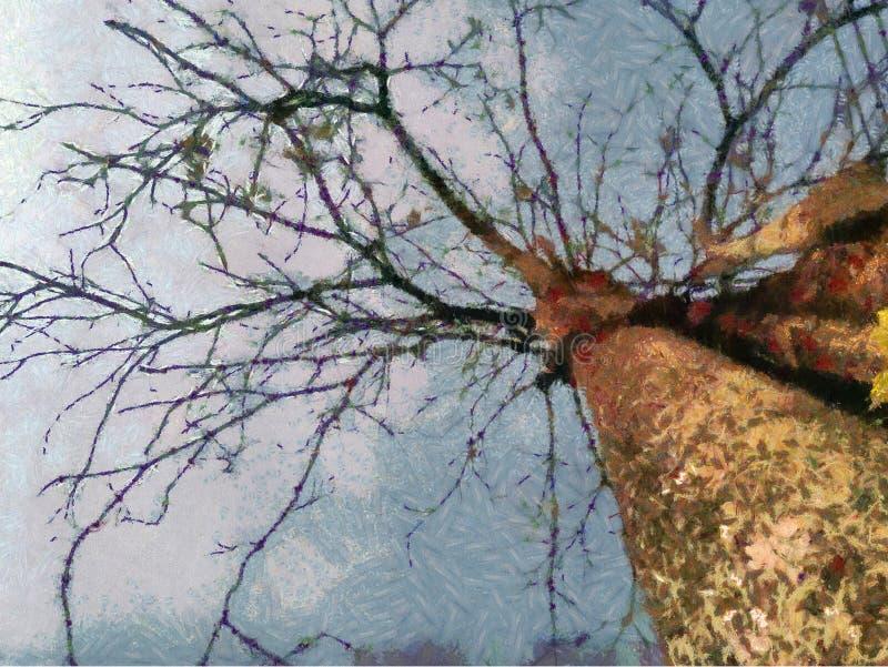 Árbol de la rama imagenes de archivo
