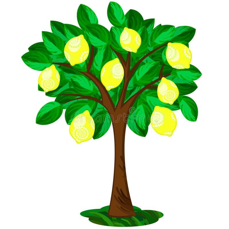 Árbol de limón libre illustration