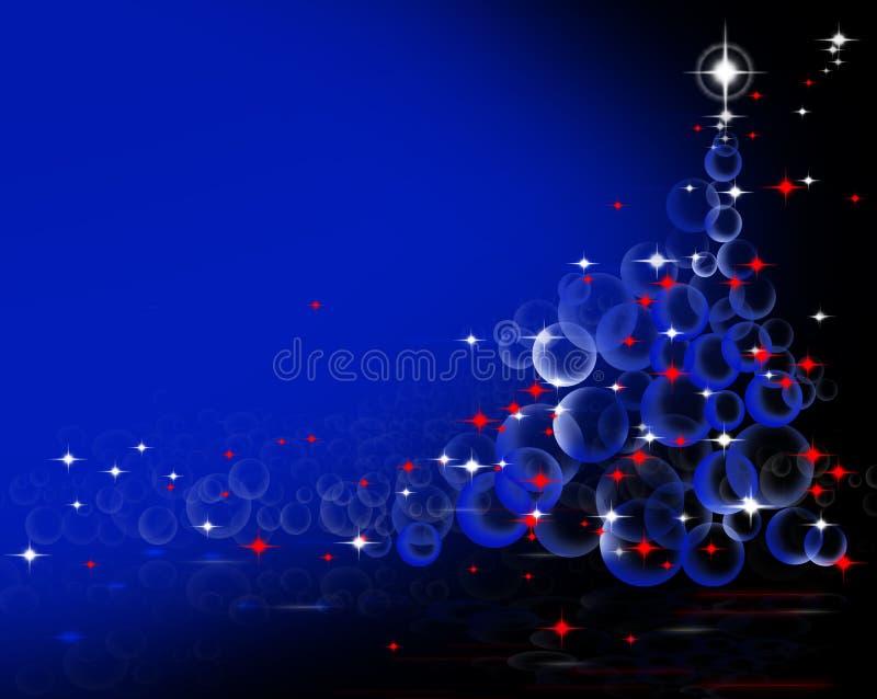 Árbol de navidad ilustración del vector