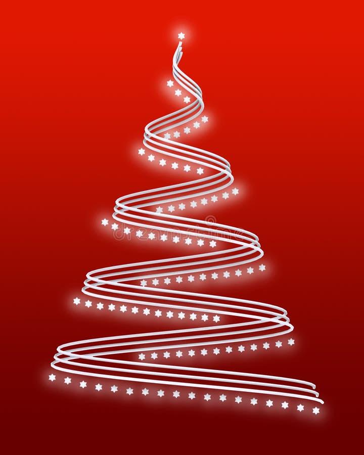 árbol de navidad 3d stock de ilustración