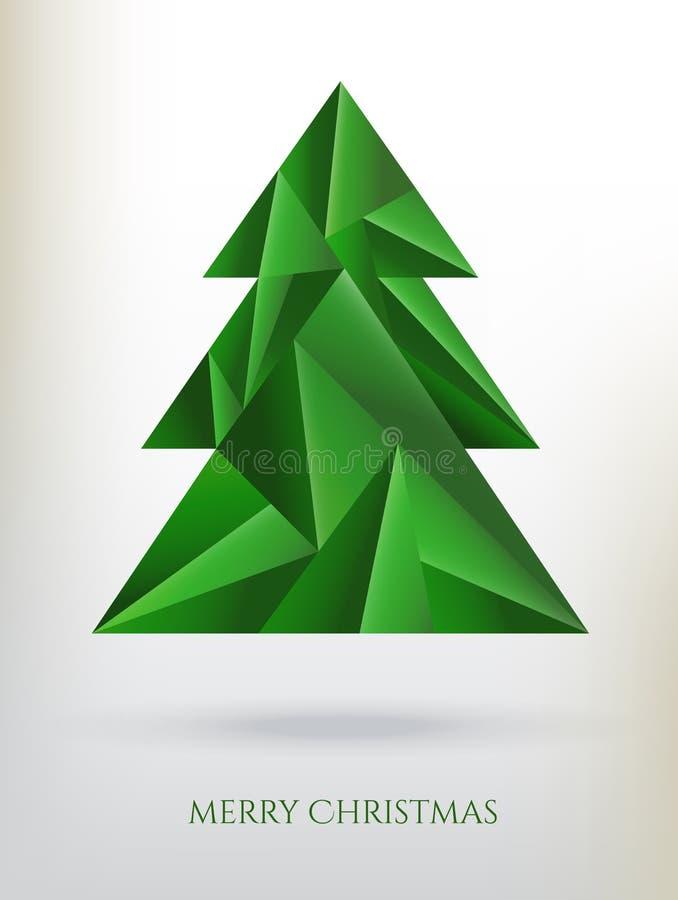 Download Árbol de navidad ilustración del vector. Ilustración de geométrico - 41910406