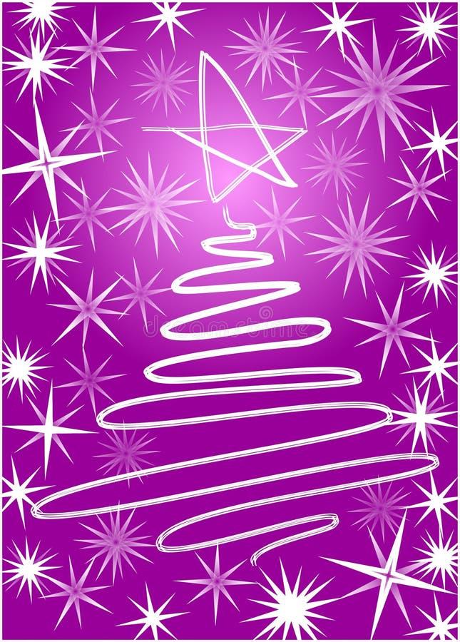 Download Árbol de navidad stock de ilustración. Ilustración de línea - 44855024