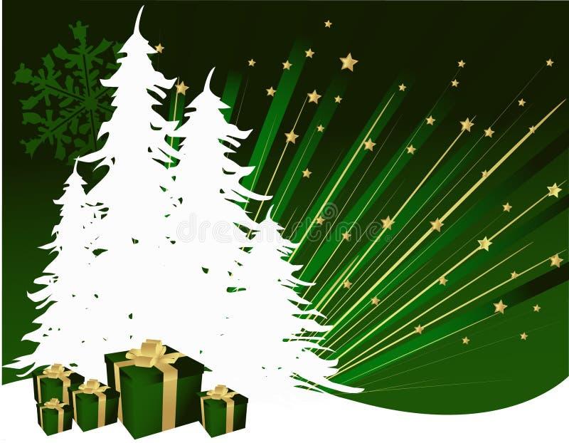 Árbol de navidad libre illustration