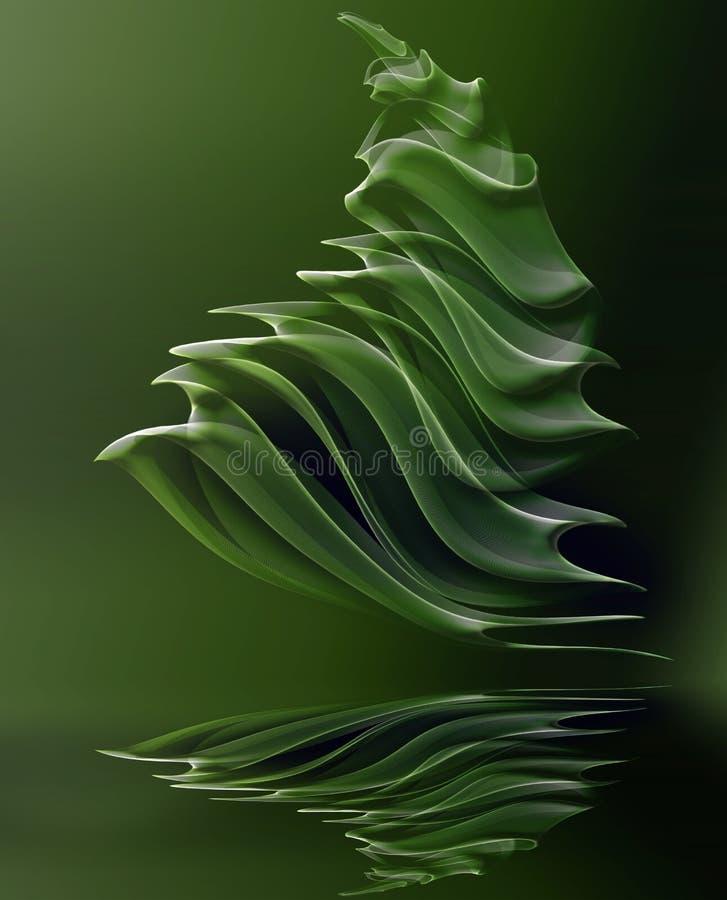 Download Árbol de navidad stock de ilustración. Ilustración de agua - 7275079