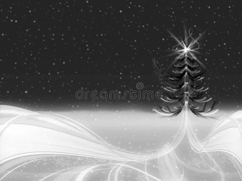 Download Árbol de navidad stock de ilustración. Ilustración de noche - 7284359
