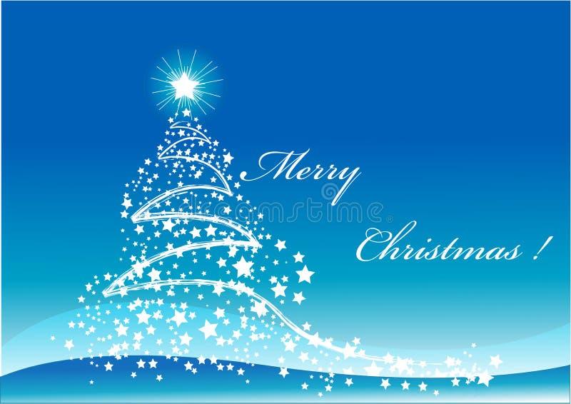 Download Árbol de navidad stock de ilustración. Ilustración de invierno - 7286602