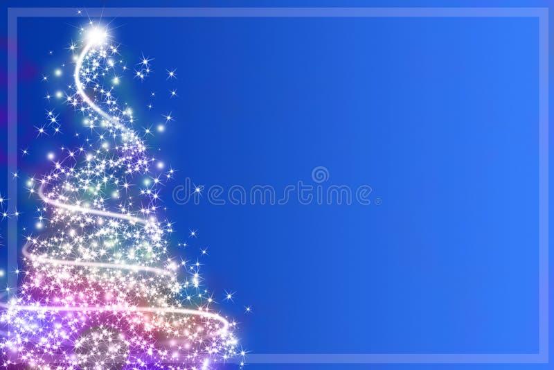 Árbol de navidad abstracto ilustración del vector