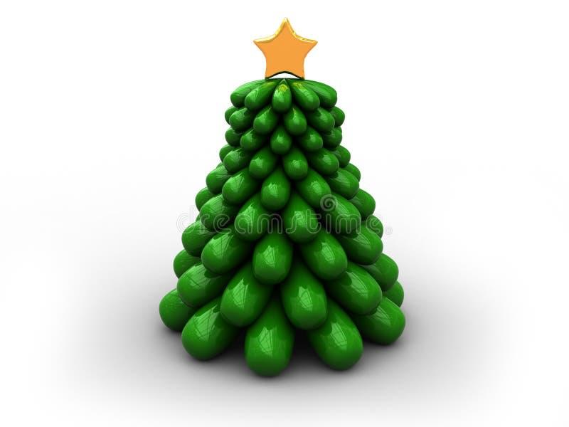 Download Árbol De Navidad De Stilized Stock de ilustración - Ilustración de pino, símbolo: 7276898